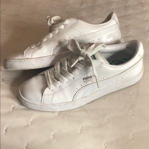 Puma Basket tennis shoes WORN ONCE